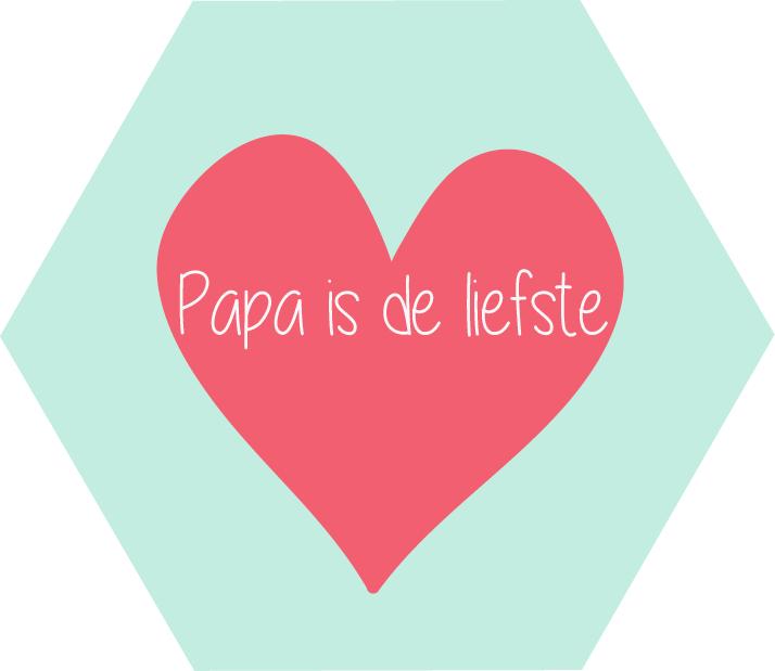 Papa is de liefste