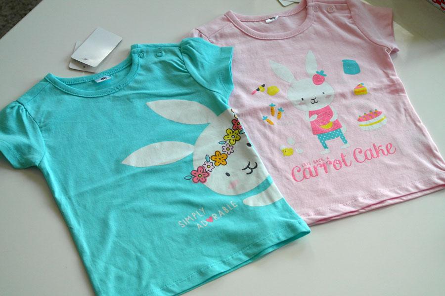 T-shirts-zeeman-konijntje-carrot-cake